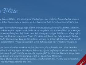 """Adunas Linden -  """"Die blaue Blüte"""""""